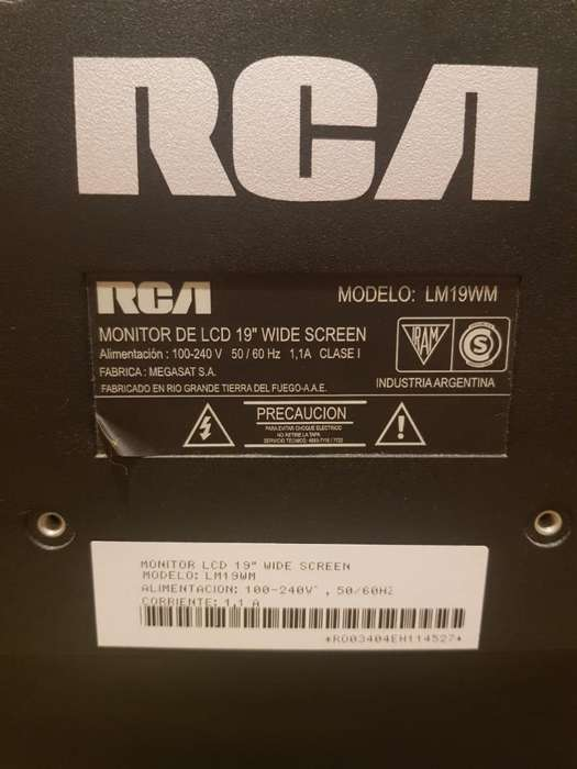 <strong>monitor</strong> Rca 19