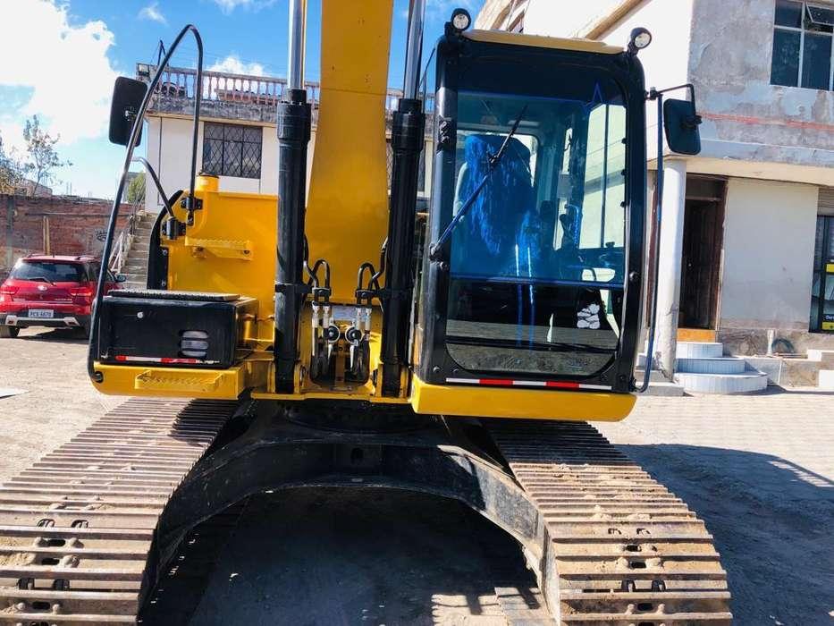 Excavadora Caterpillar 313D2L Año 2017