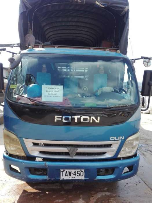 Vendo Turbo Fotón Olin 2.012