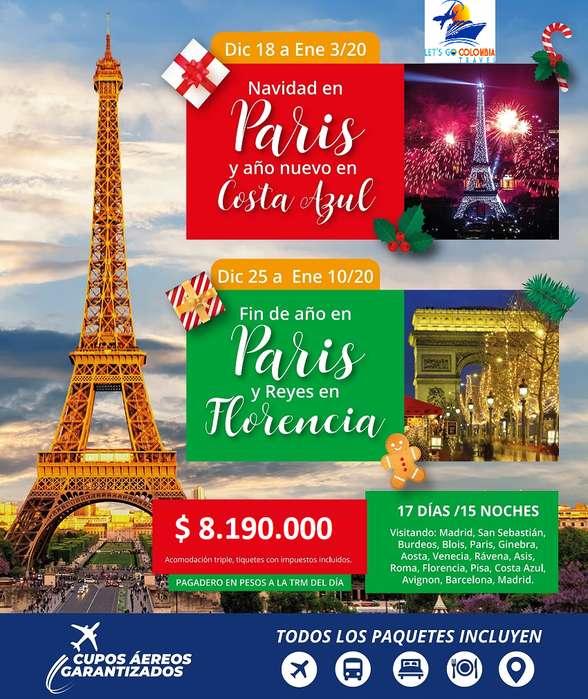 Fin de Año en Francia