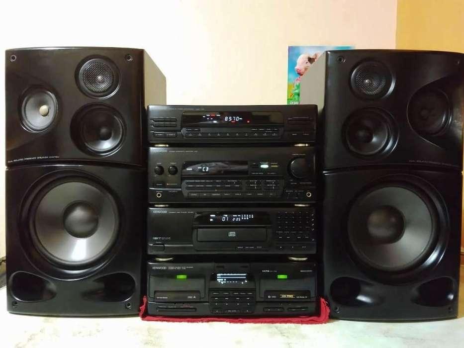 Equipo, Sistema De Sonido Kenwood M-959 Japones
