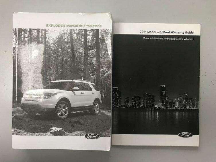 <strong>manual</strong> Propietario Camioneta Ford Explorer Original Español Usado Buen estado