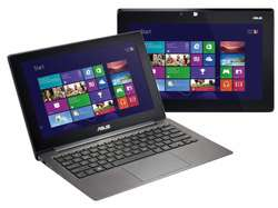 LAPTOP ULTRABOOK CONVERTIBLE ASUS TAICHI 21 I5 3317U 1.70 2.60 GHZ TURBO 2 PANTALLAS IPS 11.6 TACTIL TOUCH FULL HD 4 RAM