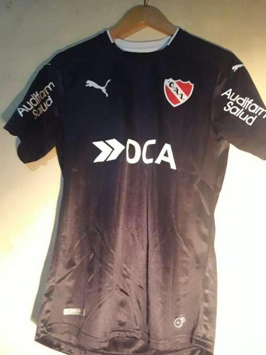 Camiseta Independiente Negra 2016