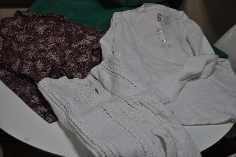 1 <strong>camisa</strong> , 1 REMERA 1 SAQUITO DE DAMA TALLE MEDIUM OFERTA