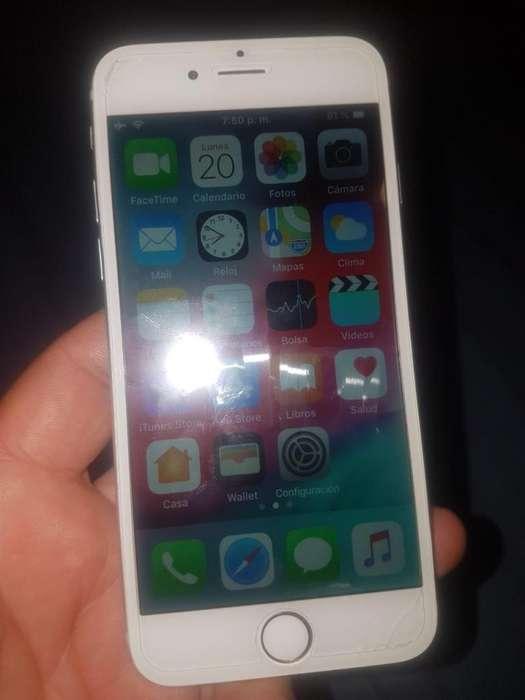 Vendo Cambio iphone 6 de 16 gigas