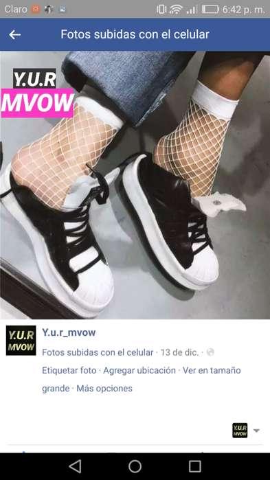 Medias malla calcetines Moda coreana a 9 soles ideales en tu outfit para este verano