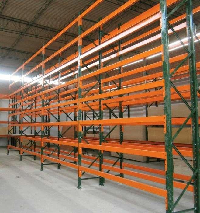 Rack Industrial De Almacenamiento Para Carga Pesada