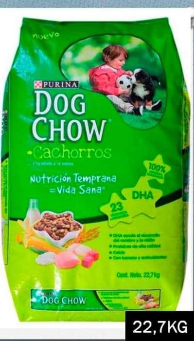 Dog Chow Razas Medianas Cachorros 22,7kg