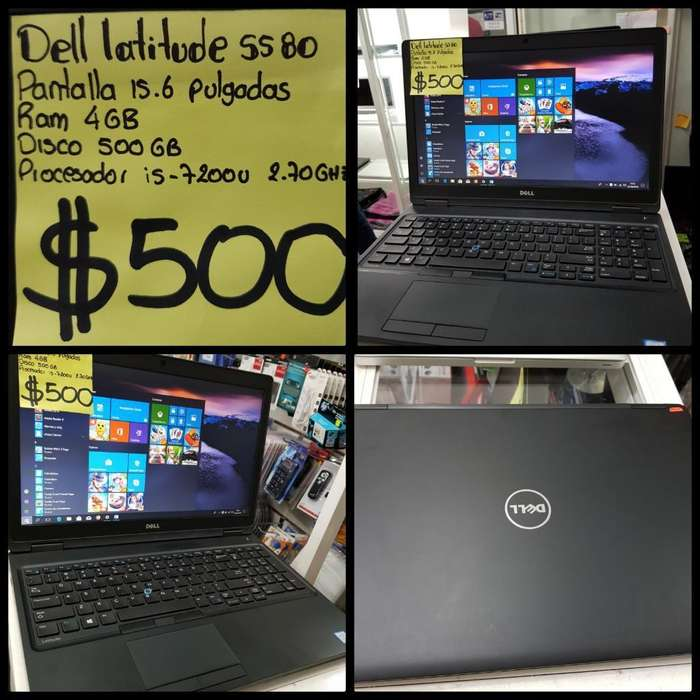 Dell Latitude I5 7ma Generación