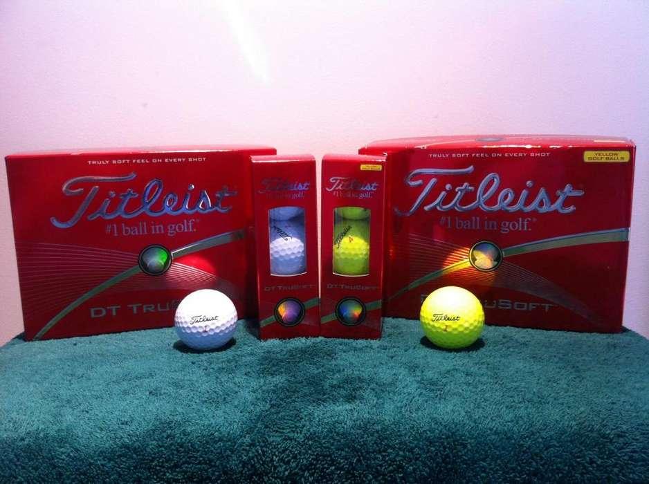 Pelotas De <strong>golf</strong> Titleist Dt Trusoft dt 90 Nuevas Rebajadas