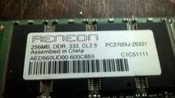 Vendo Hoy Memorias De PC DDR Y DDR2 Funcionando