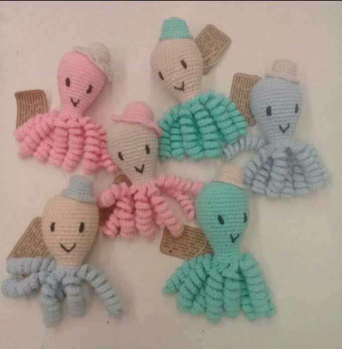 Pulpitos de Apego Tejidos Al Crochet