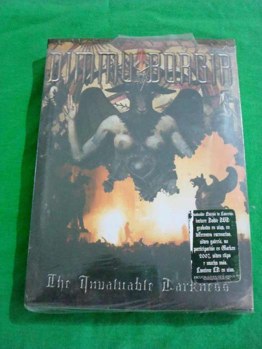 Dimmu Borgir The Invaluable Darkness edicion Triple
