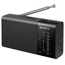 Radio Portátil Analógica Sony Icf-p26 Fm Am De Bolsillo