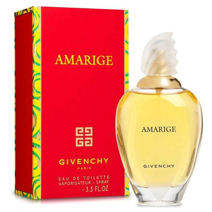 Perfume Amarige Givenchy Eau De Toilette 100 Ml Original Importados