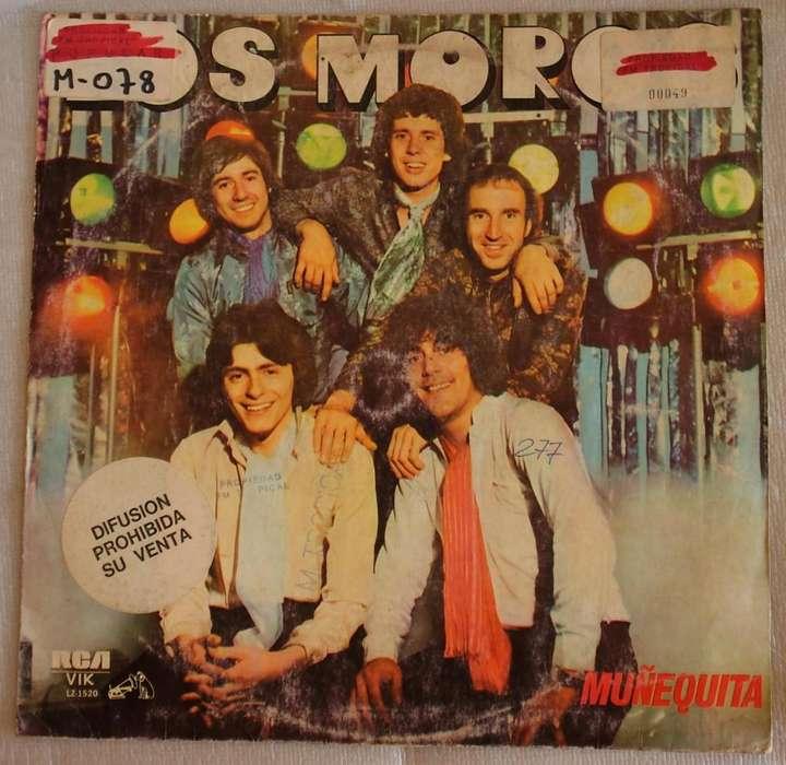 vinilo disco Los Moros Muñequita