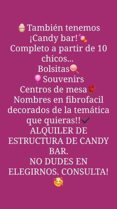 Candy Bar, Souvenir, Centro de Mesa...