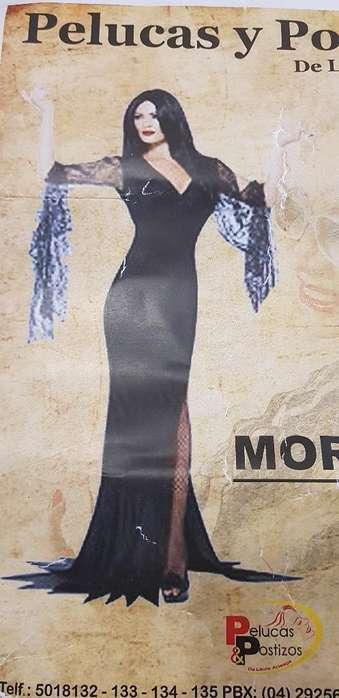 Se Vende Disfraz de Morticia Incluida Pe