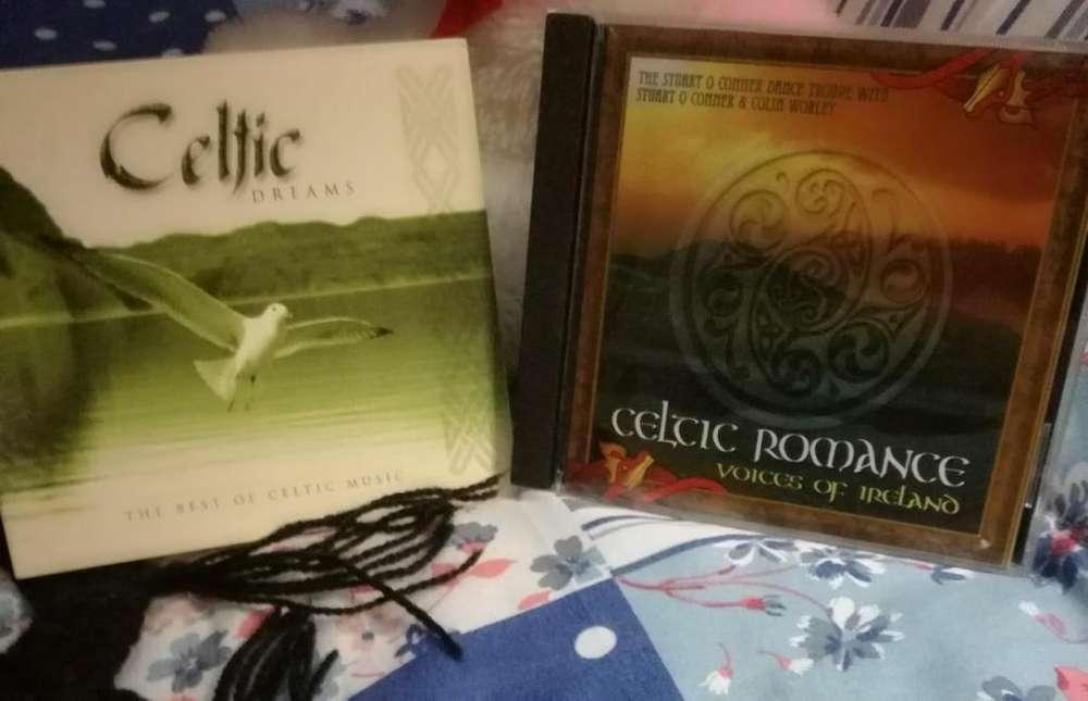 2 CD musica Celtic