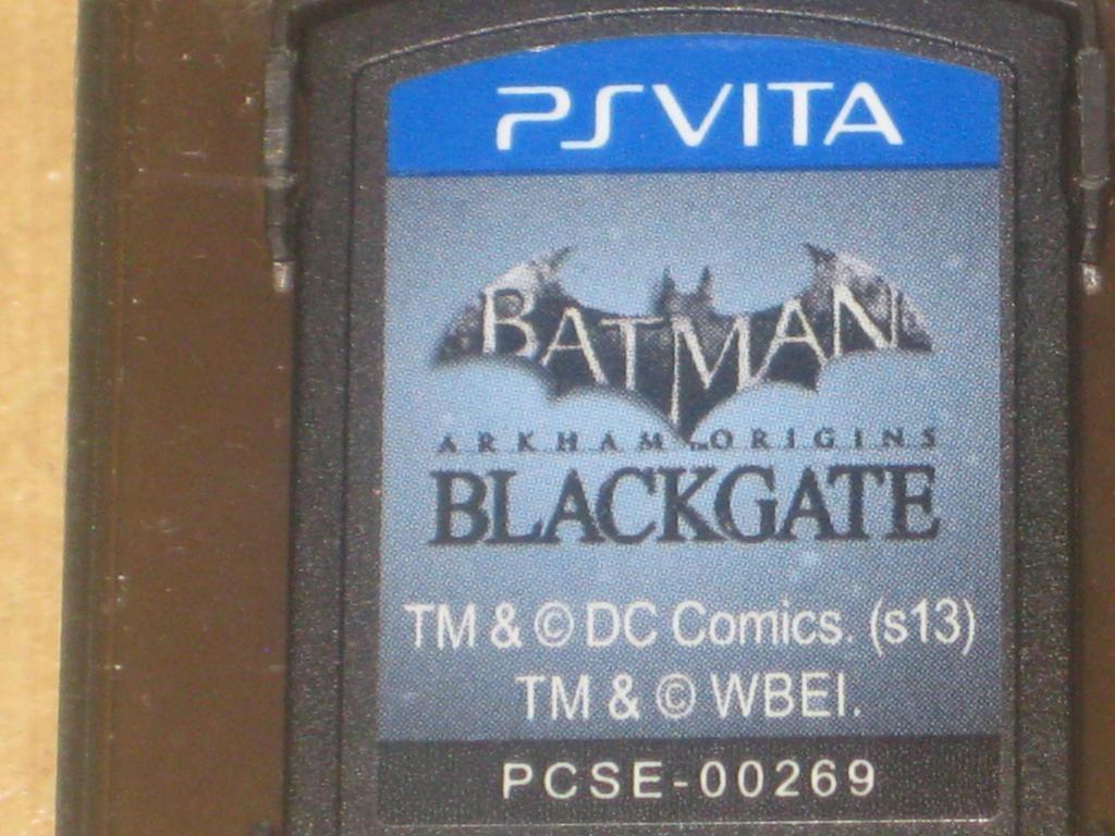 Vendo juego PSVITA de Batman Blackgate $20
