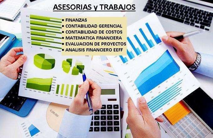 Clases Tareas de Contabilidad de costos , Finanzas , Análisis Financiero, Contabilidad General y Matemática Financiera