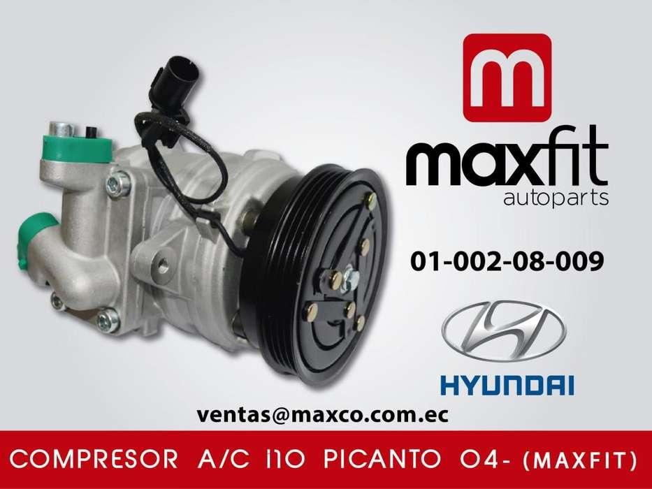 Compresor A/C i10 Picanto 04 MAXFIT