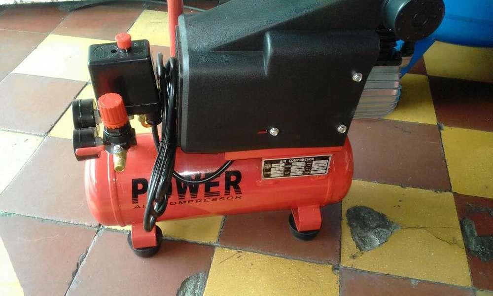 Compresor Power 120 Libras Nuevo