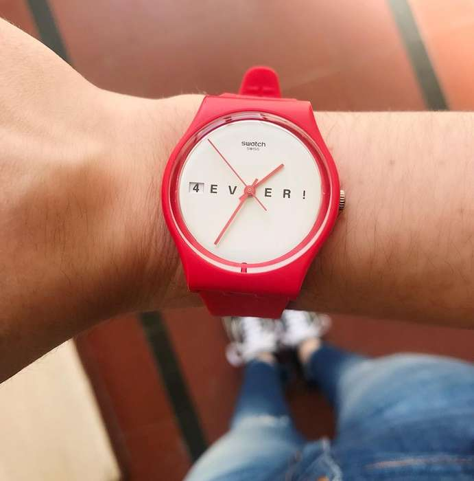 Reloj Swatch Red