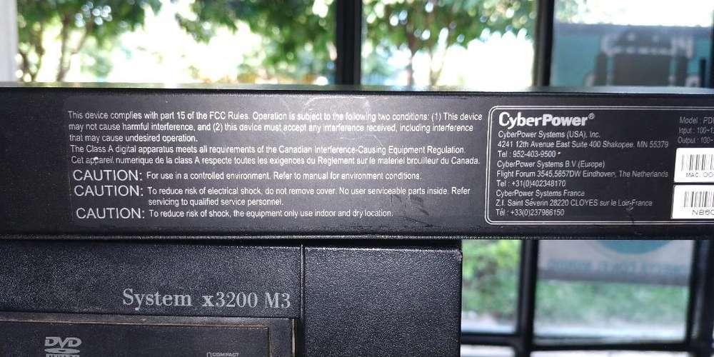Servidor Ibm System X3200m Y Pdu20m8fent