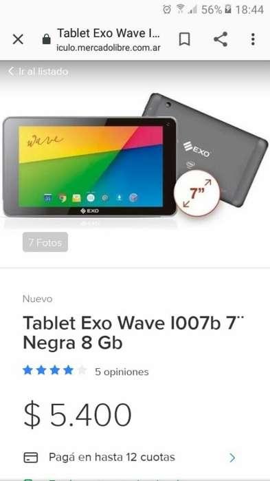 Tablet Exo Wave 7 Pulgadas
