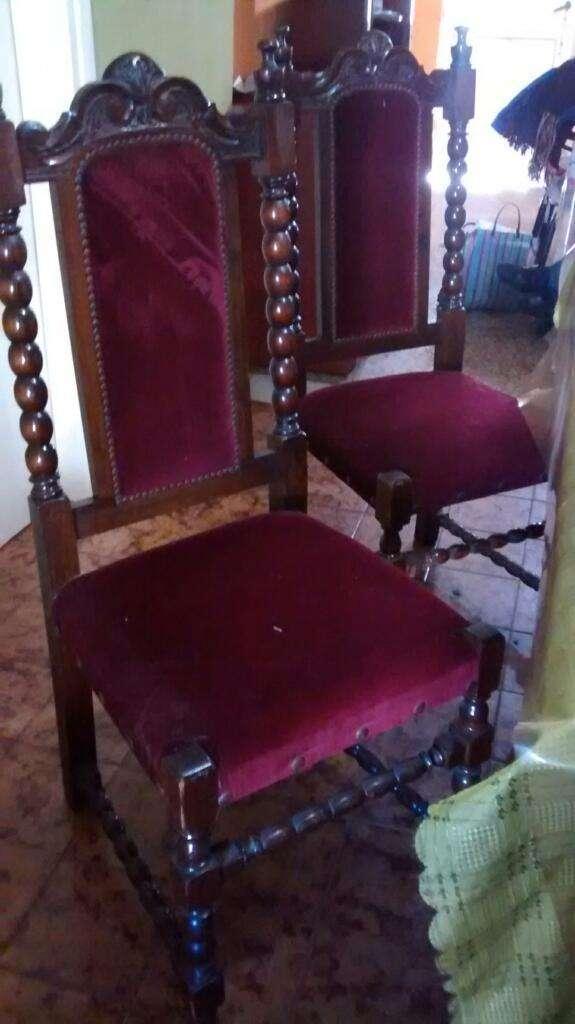 Juego Mesa y sillas estilo español