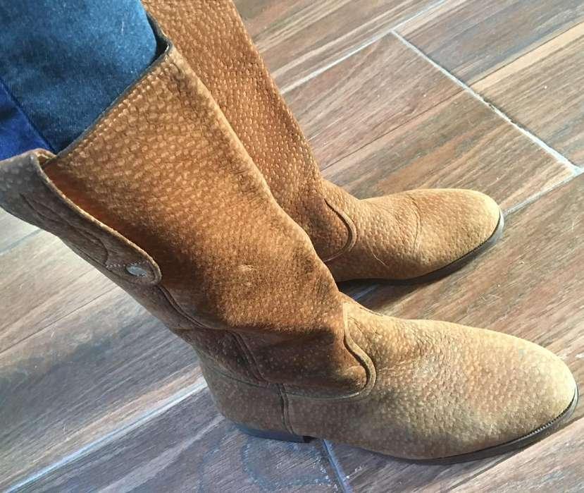 Botas de mujer Nobuk nro 39 color marron