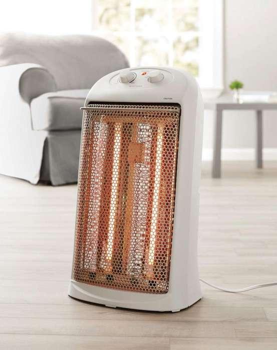 calefactor Mainstays Calentador Eléctrico espacio de torre de cuarzo blanco