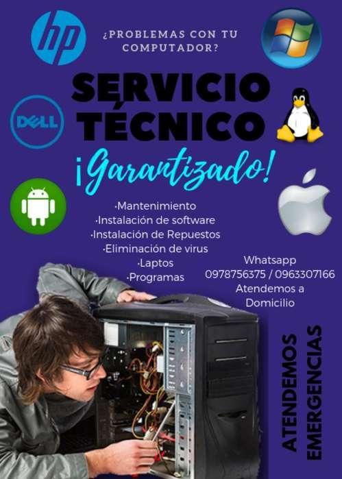 Servicio <strong>tecnico</strong> de Computadoras