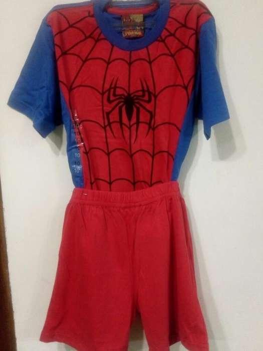 Pijama Spider Man T 10 Oferta