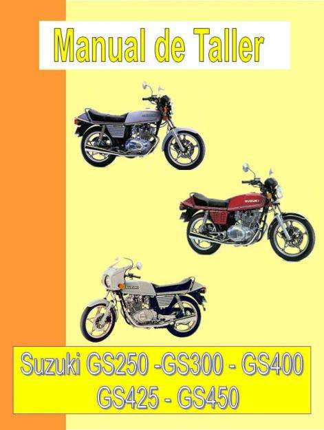 Suzuki GS 450 manual taller despiece