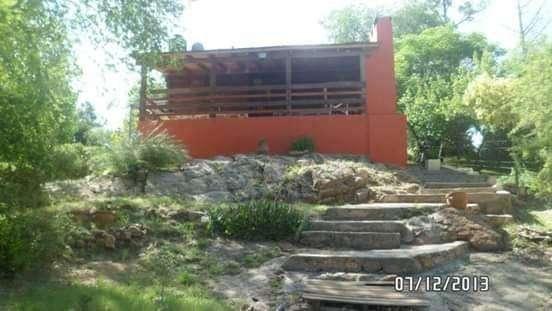 VENDO CABAÑA, C.PAZ - EST.VIEJA  50 MTS RIO LOS CHORRILLOS ,ZONA VADO  IDEAL PARA EMPRENDIMIENTO COMPLEJO TURISTICO.