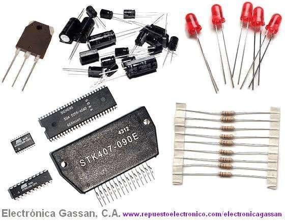 Ventas de componentes electrnicos y electricos