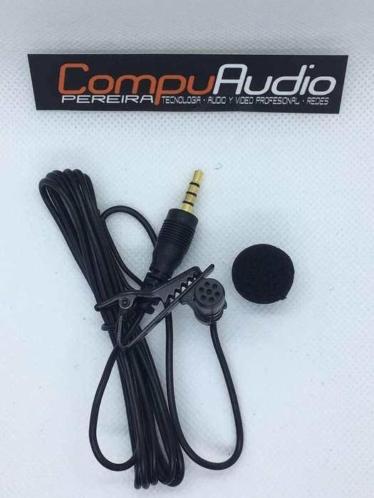 Microfono de solapa para celular