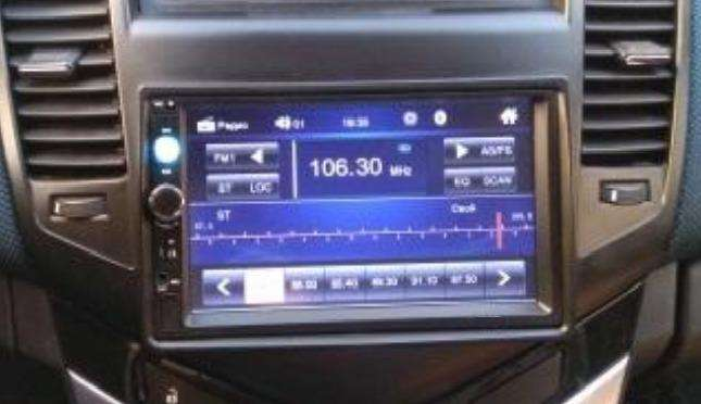 RADIO PARA CARRO PANTALLA TÁCTIL DE 7 PULGADAS BLUETOOTH MIRROLINK 2 DIN