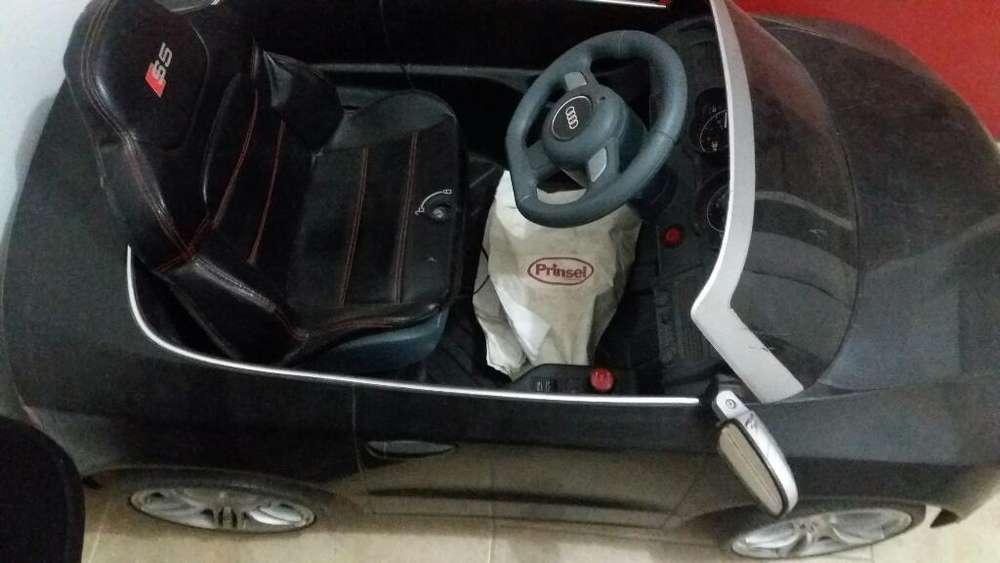 Carro de Bateria Audi