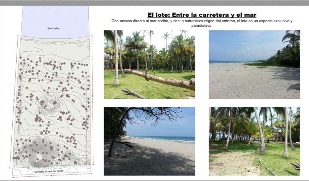 Se vende espectacular lote con 104 Mtl de Playa - wasi_1111239