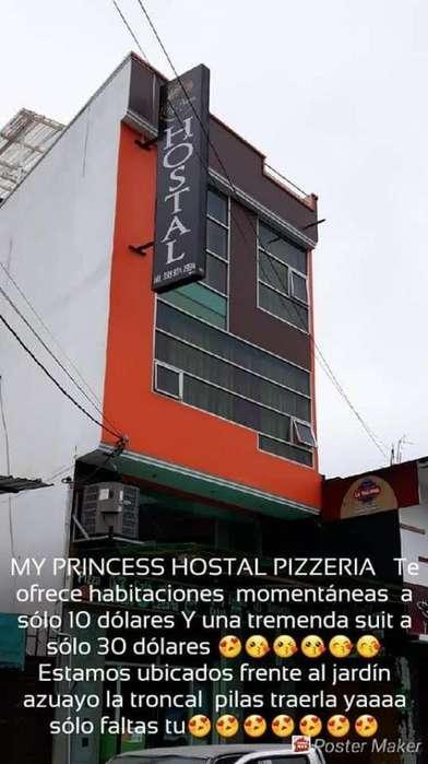 Vendo Hostal Restaurante Funcionando 10