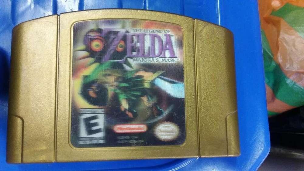 Juego de Nintendo 64 Zelda Majoras Mask