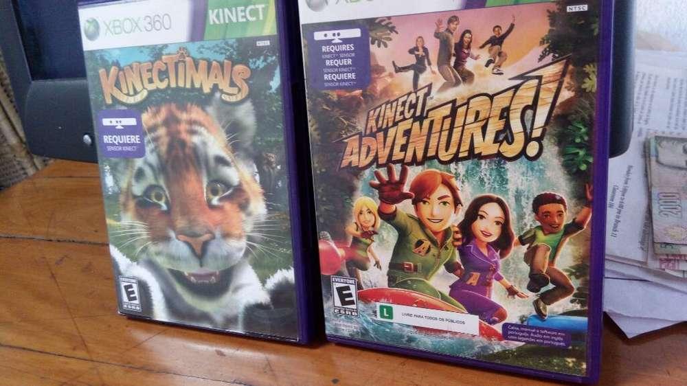 Vendo Juegos de Xbox 360 Kinect