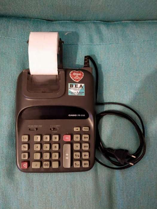 <strong>calculadora</strong> Impresora Casio Fr 510
