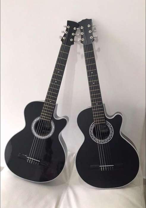 Guitarras Acusticas con Forro Y Metodo