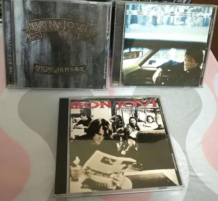 Cds de Colección Bon Jovi