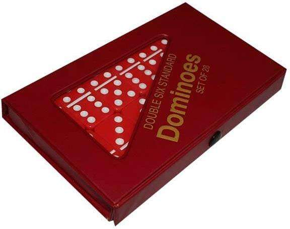 Domino Set dominoes dobke seis colores